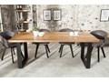 Stół Iron Craft 180x90 cm naturalny Długość 180 cm  Szerokość 80 cm Kategoria Stoły kuchenne