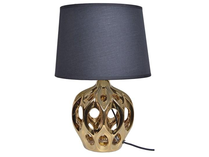Ażurowa lampka nocna Pese Lampa nocna Lampa z abażurem Lampa z kloszem Styl Glamour
