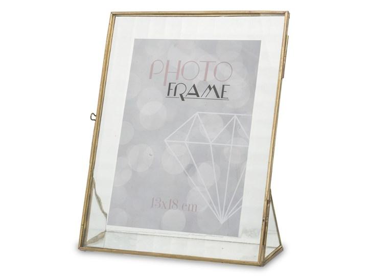 Złota ramka z passe partout Atme 23x18 cm Metal Kategoria Ramy i ramki na zdjęcia