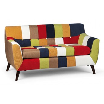 Sofa patchworkowa FIESTA, 2 siedziska