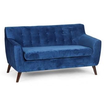 Sofa NORDIC, 2 siedziska, niebieski