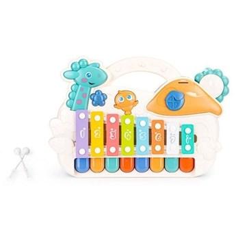 Organki cymbałki edukacyjne pianinko muzyczne led Multistore