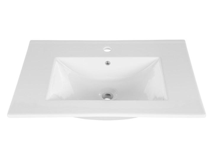 Zestaw podwieszanych szafek łazienkowych - Malta 2Q Dąb 80 cm Kategoria Zestawy mebli łazienkowych
