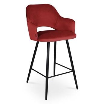 Bettso Hoker MARCY / czerwony / noga czarna / MG31