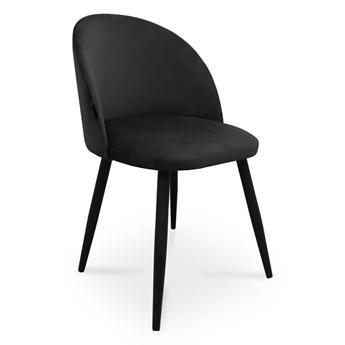 Bettso krzesło SONG / czarny / noga czarna / MG19