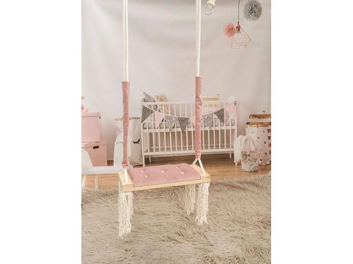 Różowa huśtawka dla dziewczynki z kryształkami - Pegi Trapez Kategoria Huśtawki dla dzieci