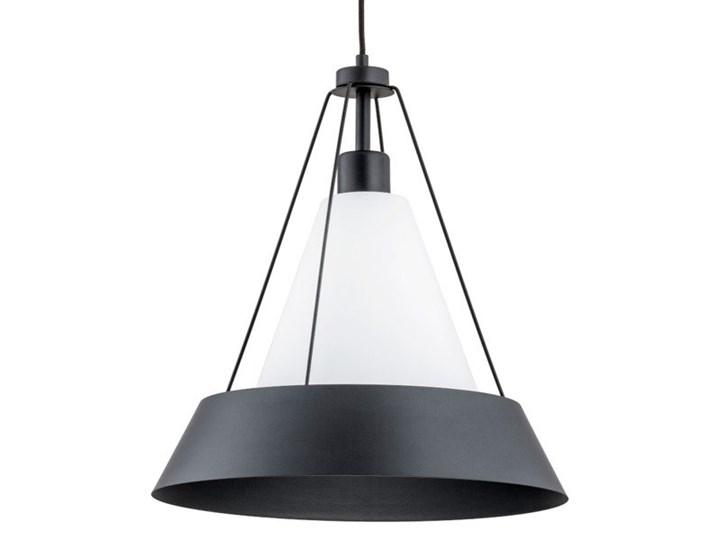 Lampa sufitowa WASA I czarny śr. 39cm Szkło Kategoria Lampy wiszące Metal Styl Nowoczesny