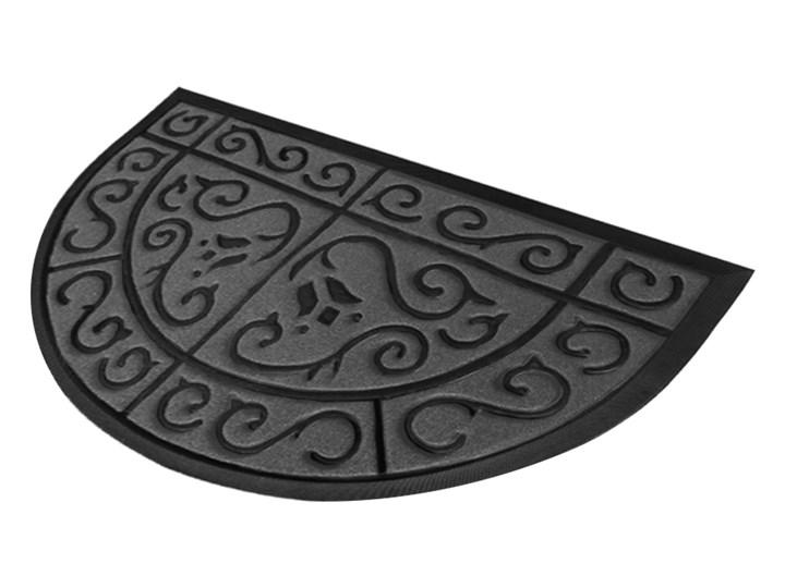Wycieraczka dywanikowa półokrągła 50x80cm (Zielona) - oficjalny sklep internetowy YORK Kolor Szary Guma Kategoria Wycieraczki