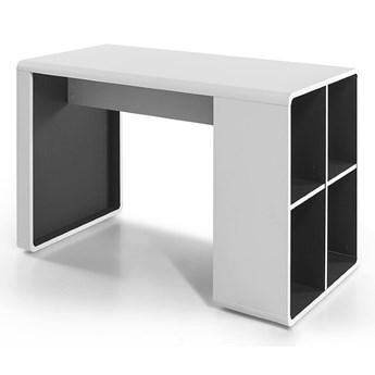 Nowoczesne biurko komputerowe z regałem Terni