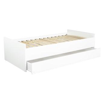 Łóżko młodzieżowe z szufladą na pościel Lio 160x80