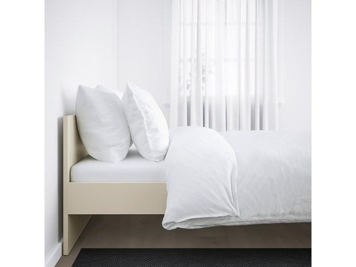 IKEA GURSKEN Rama łóżka, zagłówek, jasnobeżowy/Luröy, 140x200 cm Pojemnik na pościel Bez pojemnika Łóżko drewniane Kategoria Łóżka do sypialni