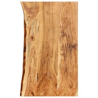 VidaXL Blat łazienkowy, lite drewno akacjowe, 100 x 55 x 3,8 cm