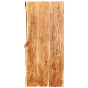 VidaXL Blat łazienkowy, lite drewno akacjowe, 120 x 55 x 3,8 cm