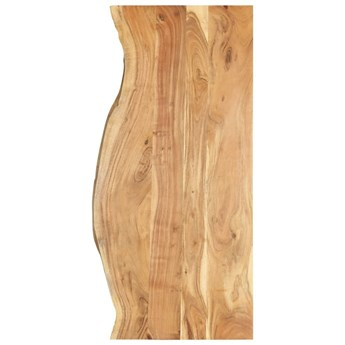VidaXL Blat łazienkowy, lite drewno akacjowe, 140 x 55 x 2,5 cm