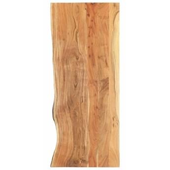 VidaXL Blat łazienkowy, lite drewno akacjowe, 140 x 55 x 3,8 cm
