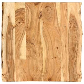 VidaXL Blat łazienkowy, lite drewno akacjowe, 60x55x2,5 cm