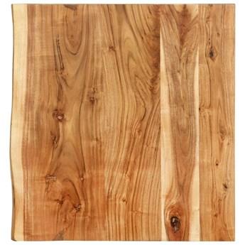 VidaXL Blat łazienkowy, lite drewno akacjowe, 60 x 55 x 3,8 cm