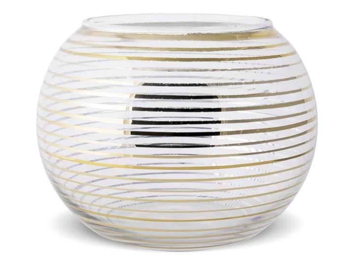 Świecznik - kula Astos Ø10 cm Kolor Szary Kategoria Świeczniki i świece