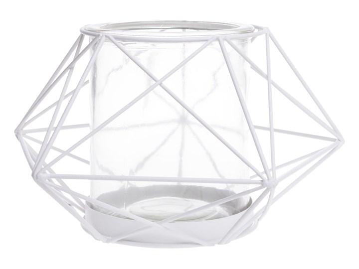 Geometryczny świecznik Svica Ø18 cm Kolor Szary Kategoria Świeczniki i świece