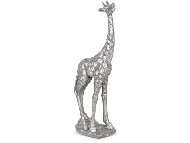 Srebrna figurka dekoracyjna żyrafy Panth Kategoria Figury i rzeźby Zwierzęta Kolor Szary
