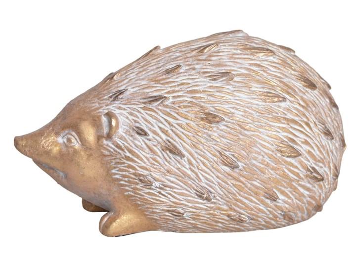 Figurka — jeż Omew 21,6 cm Tworzywo sztuczne Kolor Beżowy Kategoria Figury i rzeźby
