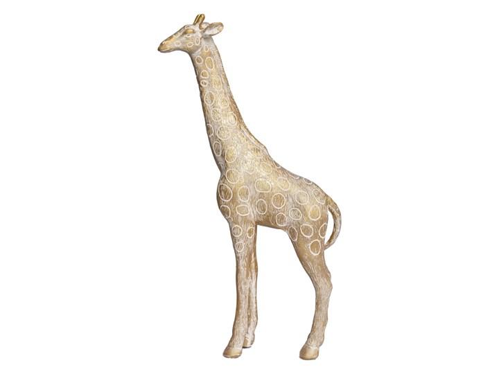 Rzeźba — złota żyrafa Ferom 32 cm Zwierzęta Tworzywo sztuczne Kategoria Figury i rzeźby