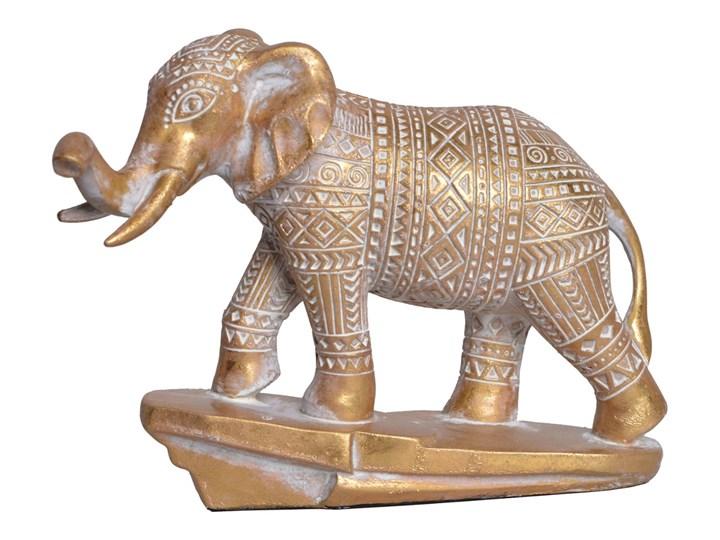 Rzeźba — słoń Otmor 18,8 cm Tworzywo sztuczne Kamień Zwierzęta Kolor Szary