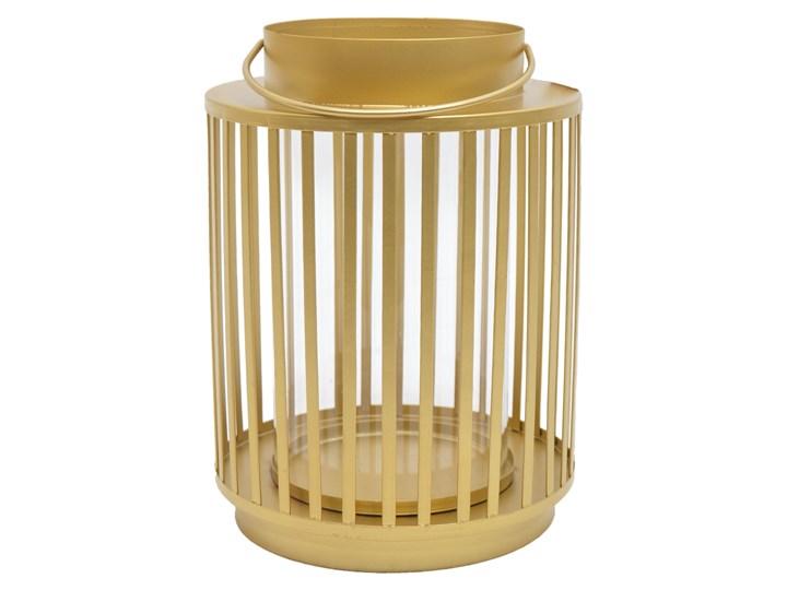 Złota latarnia z uchwytem Mula Kategoria Lampiony Metal Kolor Beżowy