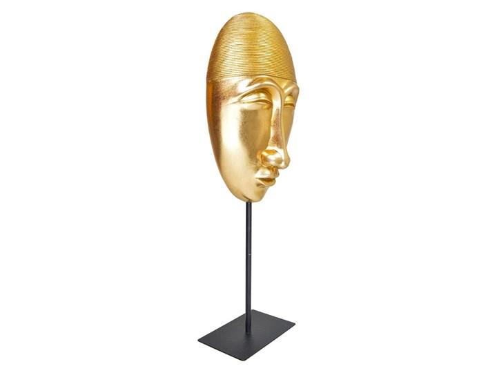 Złota maska - rzeźba Soli Kategoria Figury i rzeźby Kolor Biały