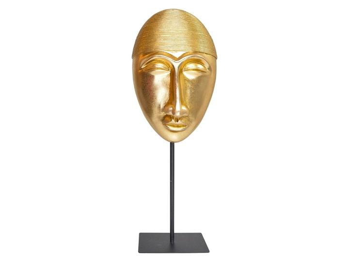 Złota maska - rzeźba Soli