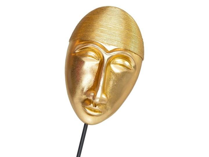 Złota maska - rzeźba Soli Kolor Biały