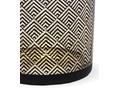Świecznik na tealighty Elvi 10 cm Kolor Czarny Kategoria Świeczniki i świece