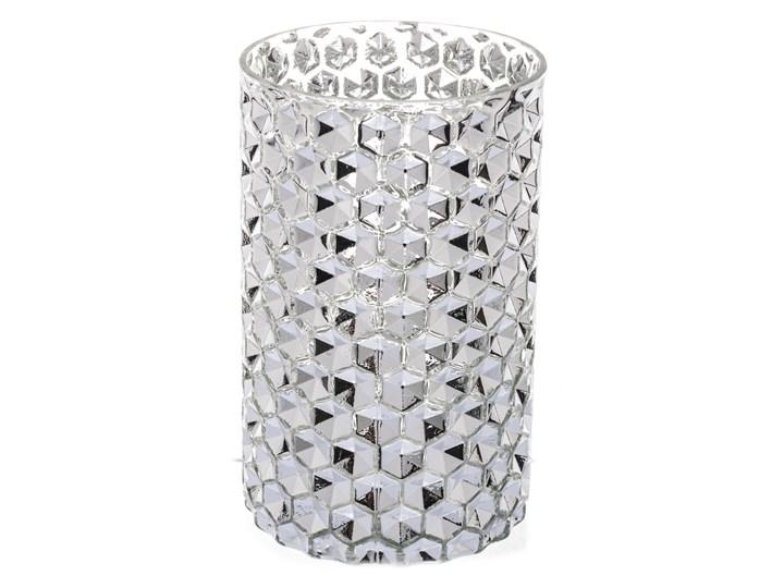 Srebrny świecznik Shine 18 cm Kolor Szary Kategoria Świeczniki i świece