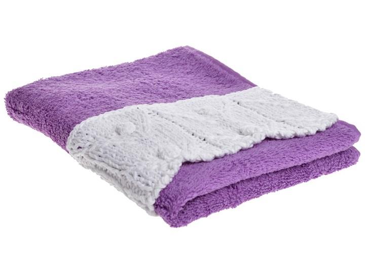 Ręcznik Theophil 40x60 cm Bawełna Ręcznik do rąk Kolor Fioletowy Kategoria Ręczniki