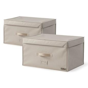 Zestaw 2 pojemników na ubrania Compactor Family Trunks, 150 l