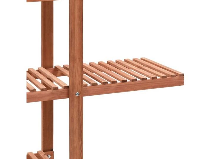 Regał na rośliny z drewna cedrowego - Revad Drewno Kategoria Doniczki i kwietniki Kolor Brązowy
