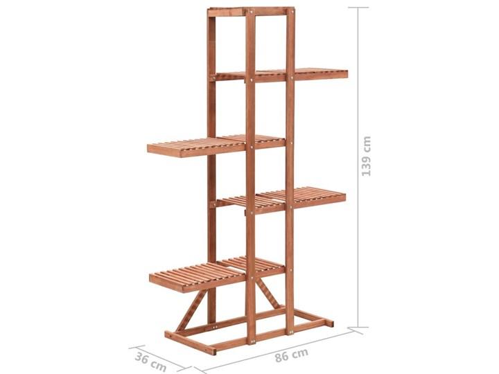 Regał na rośliny z drewna cedrowego - Revad Drewno Kategoria Doniczki i kwietniki