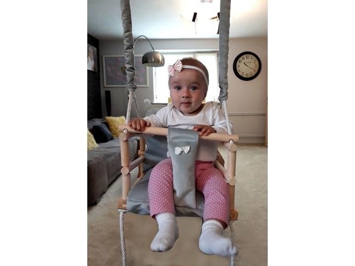 Szara huśtawka dla dziecka - Naomi 3w1 Kubełkowa Kategoria Huśtawki dla dzieci