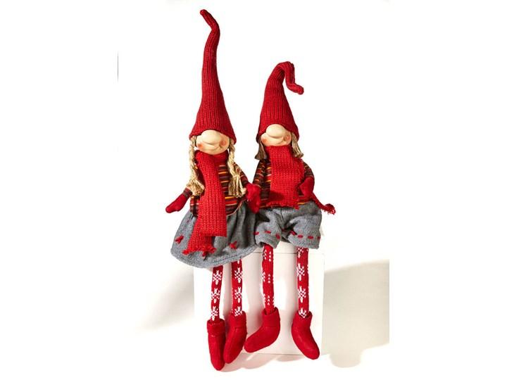 """Figurki siedzące """"Rudi & Merle"""" (2 części)   bonprix Kolor Biały Kategoria Ozdoby bożonarodzeniowe"""