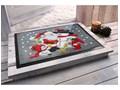 Wycieraczka z bożonarodzeniowym motywem | bonprix Tworzywo sztuczne Kolor Szary Kategoria Wycieraczki