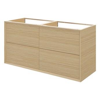 Szafka z szufladami pod umywalkę GoodHome Avela 120 cm drewno