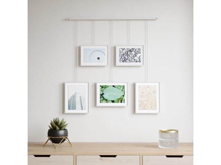 Ramka na zdjęcia Exhibit 70x66 cm biała Multiramka Kolor Biały Kategoria Ramy i ramki na zdjęcia