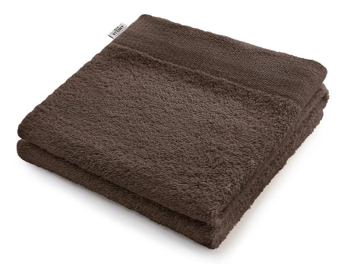 AmeliaHome - Ręcznik kąpielowy Bawełniany Gładki Brązowy AMARI - 70x140 cm