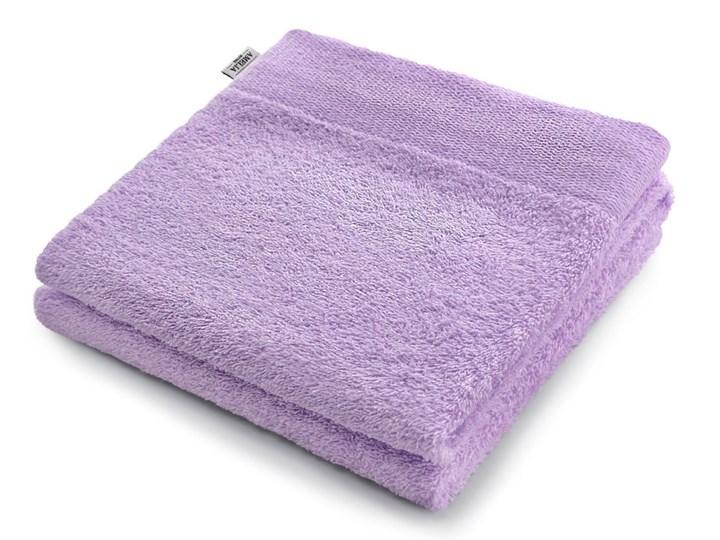AmeliaHome - Ręcznik kąpielowy Bawełniany Gładki Liliowy AMARI - 50x100 cm