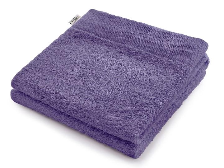 AmeliaHome - Ręcznik kąpielowy Bawełniany Gładki Fioletowy AMARI - 30x50 cm