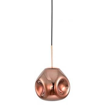Fellet PND-8455-1-CP LAMPA WISZĄCA SZKŁO Miedziany ITALUX