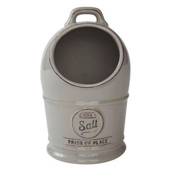 Szary pojemnik ceramiczny na sól T&G Woodware Pride of Place
