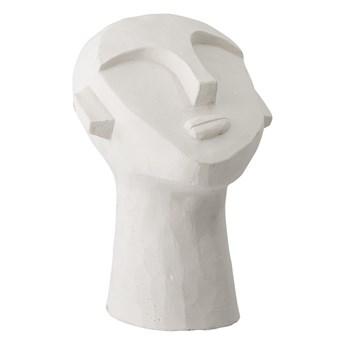 Biała dekoracja w kształcie głowy Bloomingville Head