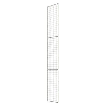 Panel z siatki do ogrodzenia X-STORE, wysokość: 3300 mm, szerokość: 400 mm