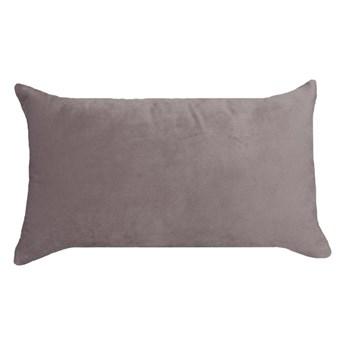 Poduszka welurowa Tony beżowa 50 x 30 cm Inspire